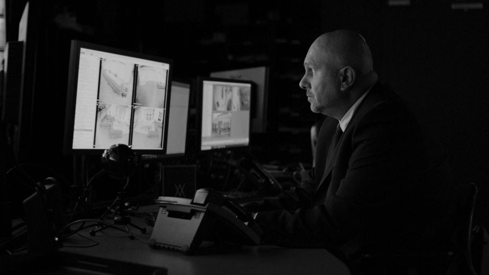 Avante Security guard working in Avante Security Control Centre