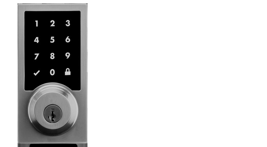 Door keypad interface