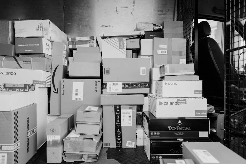 Lots of parcels